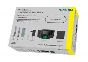 Trix 11100 Minitrix Digital Startskit Mobile Station + Räls Nyhet 2020