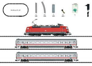 "Trix Minitrix 11150 Startset med Ellok (DB AG) class 120 ""Intercity"""