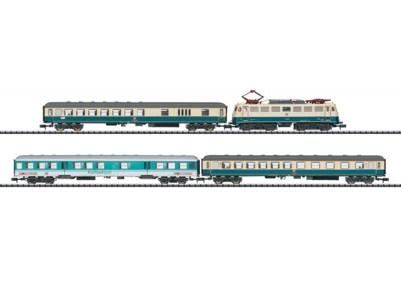 "Trix Minitrix 11635 Tågset Ellok persontåg DB ""Moselle Valley Railroad"" DCC"