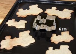 """Märklin 12332 Kakform föreställande 6 cm lok Cookie Cutter, 6 cm / 2-3/8"""""""