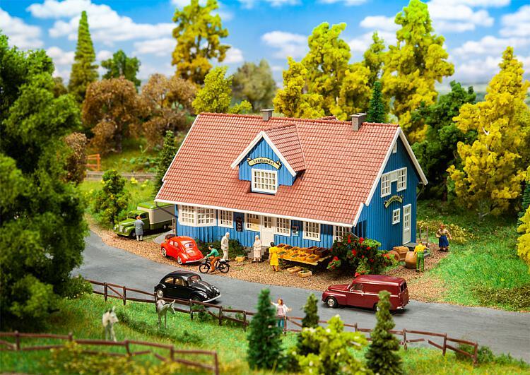 FALLER 130660 Svensk Lanthandel H0 Swedish village shop