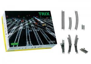Trix 14301 Utbyggnads rälssats Minitrix