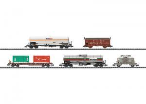 Trix 15285 Vagnset DB Tank + Sdgkms + Ucs + Tims-ww 858 + Gaskesselwagen