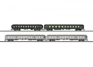 Trix 15471 Personvagnset ABüm 225, Bye 655, Bnb 719 DB