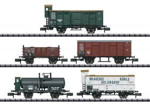 Trix Minitrix 15534 Vagsnet Württemberg and Baden State Railways Nyhet 2020 Förboka ditt exemplar