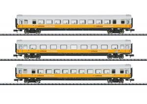 "Trix 15673 Vagnset ""Lufthansa Airport Express"" DB"