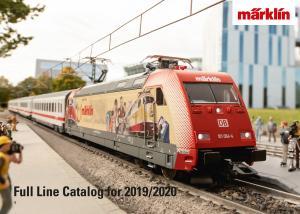 Märklin 15705 Märklin Katalog 2019/2020 Engelsk text