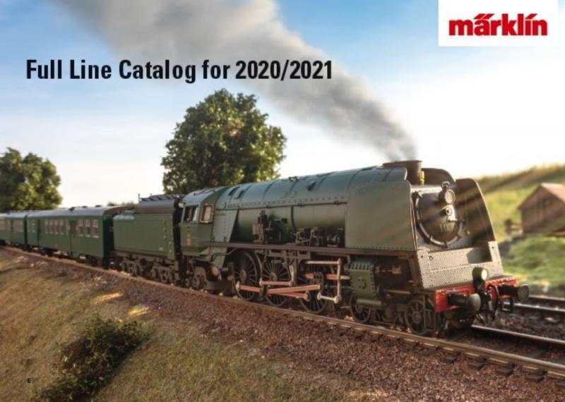 Märklin 15712 Märklin Katalog 2020/2021 Engelsk text