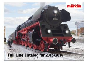15731 Märklin katalog 2015/2016 Engelsk text!