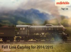 15781 Märklin katalog 2014/15 H0,Z,1 Eng