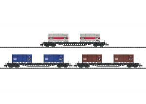 "Trix 15961 Vagnset DB ""Container Transport"""