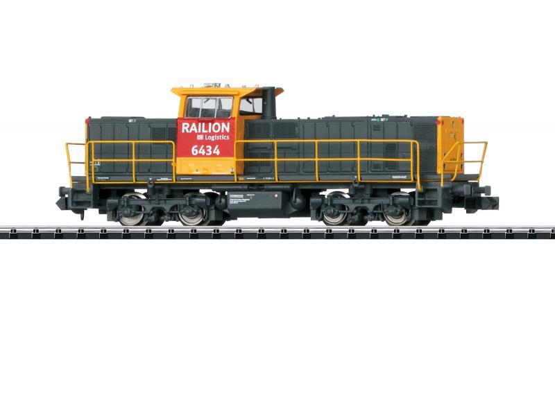 Trix Minitrix 16062 Diesellok MAK Class 6400  ( DB AG ) Nyhet 2020 Förboka ditt exemplar