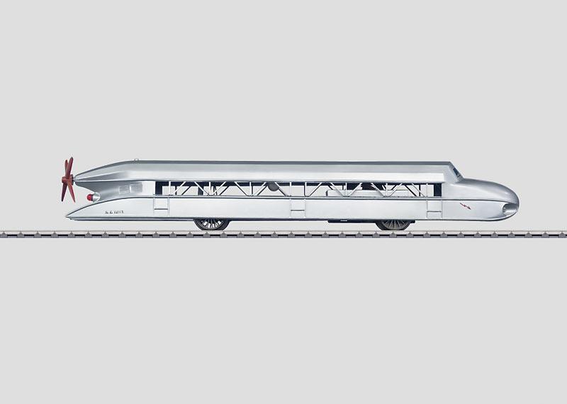 16075 Rälszeppelinare replikamodell Spår 1