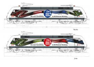 """Trix Minitrix 16087 Ellok (DB AG) class 101 """"Design & Bahn"""" (""""Design & Railroad"""") Höstnyhet 2021 Förboka ditt exemplar"""