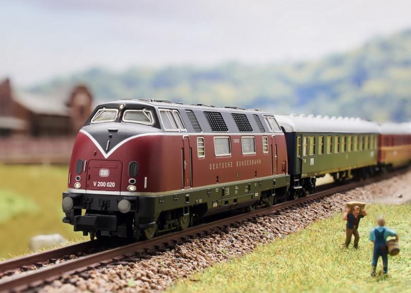 Trix Minitrix 16224 Diesellok DB Class V 200 Nyhet 2020 Förboka ditt exemplar