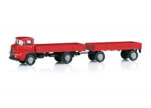 Märklin 18035 Lastbil och släp KRUPP Insider modell