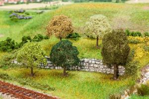 FALLER 181172 5st Premium träd / PREMIUM Trees, assorted