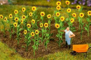 FALLER 181256 16st Solrosor / 16 Sunflowers