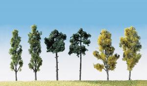 FALLER 181488 6st olika träd / 6 Assorted trees