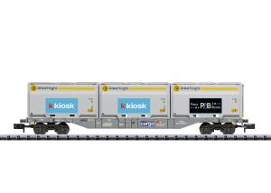Trix Minitrix 18405 SBB Type Sgnss Container vagn Nyhet 2020