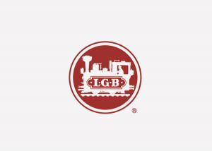 """LGB 185449 Dekal """" LGB logo """" 100 mm 1st"""