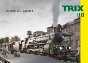 Trix 19838 H0 Huvudkatalog 2019 / 2020