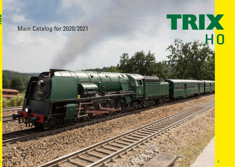 Trix H0 19850 Katalog 2020 / 2021 Engelsk text
