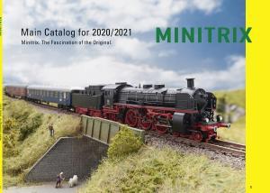 Trix Minitrix N  19853 Katalog 2020 / 2021 Engelsk text
