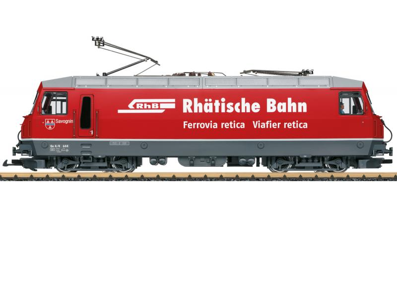 LGB 21430 Ellok Class Ge 4/4 III RhB mfx DCC Ljud Sommarnyhet 2021 Förboka ditt exemplar