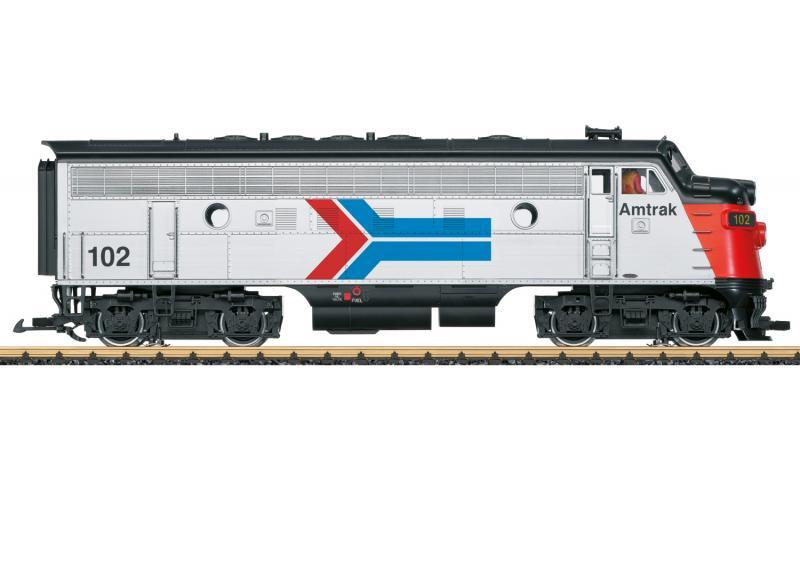 "LGB 21580 Diesellok Amtrak F7A MFX DCC Ljud "" 50 Years of Amtrak "" Nyhet 2021 Förboka ditt exemplar"