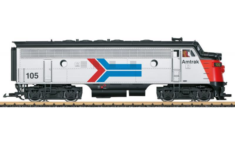 "LGB 21582 Diesellok Amtrak F7A MFX DCC Ljud "" 50 Years of Amtrak "" Nyhet 2021 Förboka ditt exemplar"