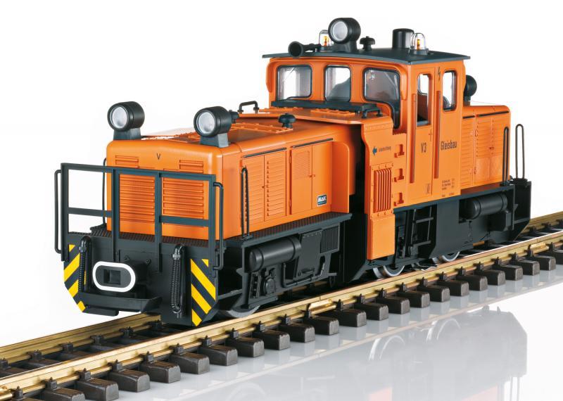 LGB 21671 Tyskt Diesellok för rälsrengörning Nyhet 2021 Förboka ditt exemplar