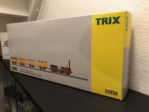 """Trix 22050 Persontåg """" DER ADLER"""" DCC"""