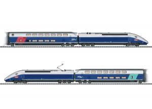 Trix 22381 Franskt snabbtåg (SNCF) TGV Euroduplex MFX DCC Ljud Nyhet 2021 Förboka ditt exemplar
