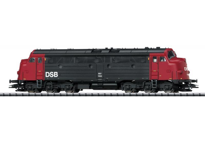 Trix 22677 Diesellok  DSB NOHAB MV 1102 Nyhet 2020 Förboka ditt exemplar