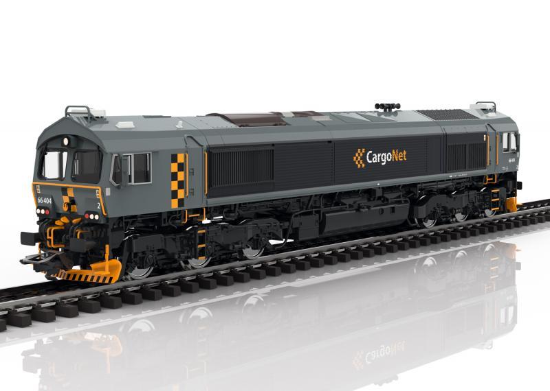Trix 22694 Norskt Diesellok Class 66 Cargo net Nyhet 2020