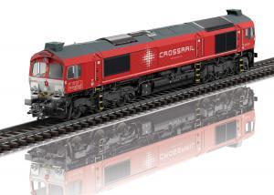 "Trix 22697 Diesellok Class 77 Type JT42CWRM "" Crossrail "" mfx dcc ljud Nyhet 2021"