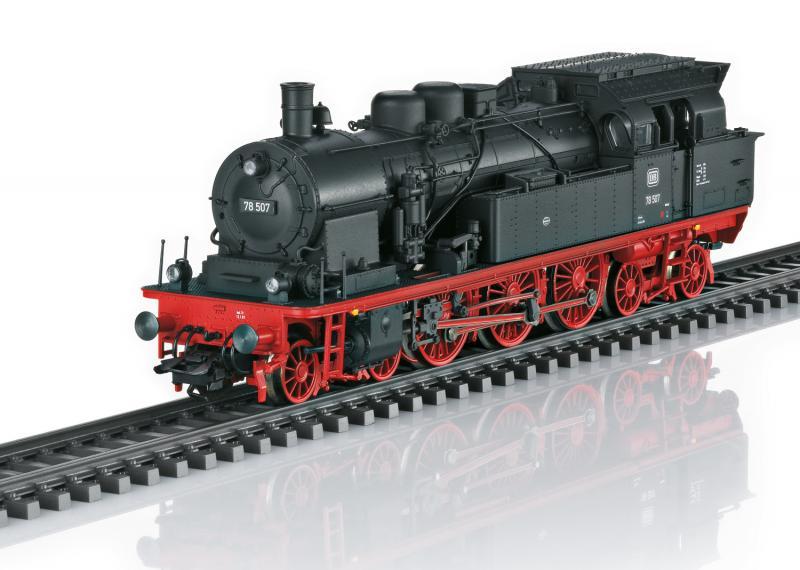 Trix 22877 Ånglok (DB) class 78 (former Prussian class T18) DCC mfx Ljud Nyhet 2021