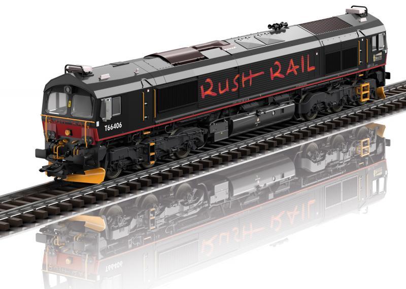 "Trix 22997 Diesellok Class 66 "" RushRail "" Sverige Nyhet 2021"