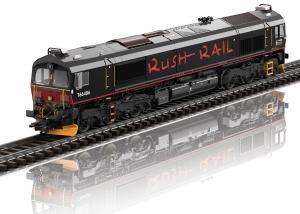 """Trix 22997 Diesellok Class 66 """" RushRail """" Sverige Nyhet 2021 Förboka ditt exemplar"""
