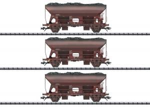 Trix 24123 Vagnset (DDR/GDR) type Fcs 6450 dump vagnar Nyhet 2021 Förboka ditt exemplar