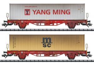 Trix 24139 Vädrat vagnset Type Lgs 580 Container Höstnyhet 2020 Förboka ditt exemplar