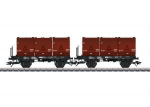 Trix 24177 DB Koltransport vagnset Nyhet 2020 Förboka ditt exemplar