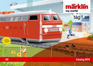 244296 Märklin My world katalog 2014 Engelsk text