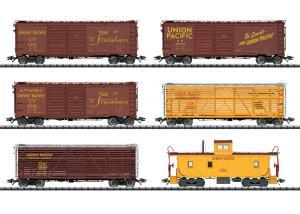 Trix 24914 Vagnset Union Pacific Railroad (U.P.) Nyhet 2020 Förboka ditt exemplar