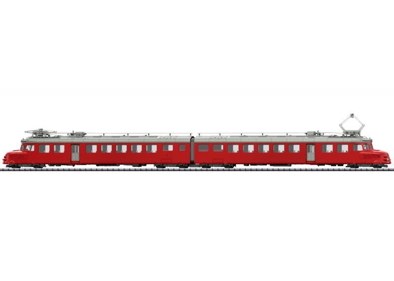 """Trix 25260 ( SBB ) Eldriven motorvagn class RAe 4/8 """" Churchill Arrow """" Nyhet 2021 Förboka ditt exemplar"""