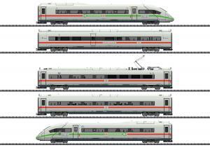 Trix 25976 Högfartståg Eldrift Class 412/812 ICE 4 100% Grön el Nyhet 2020 Förboka ditt exemplar