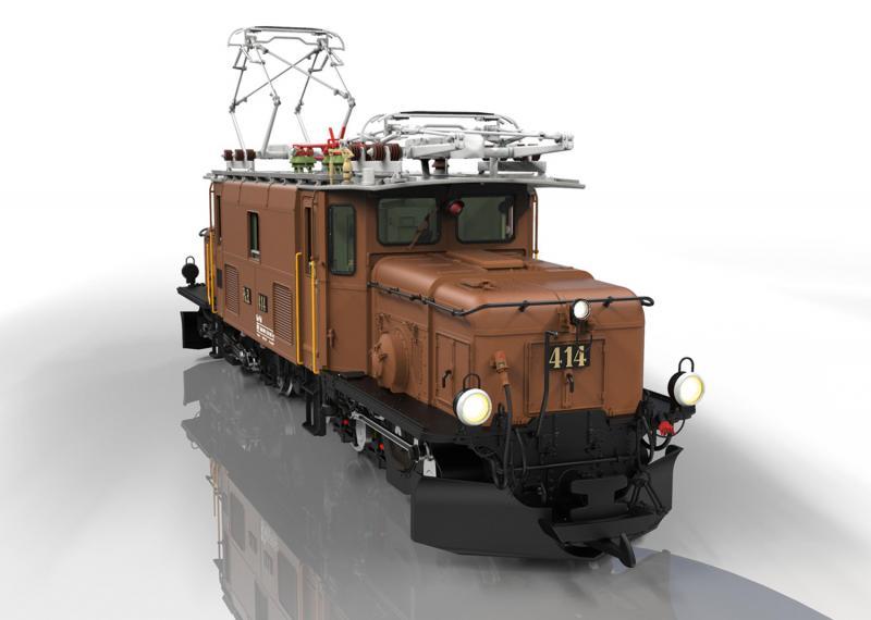 "LGB 26600 Ellok Class Ge 6/6 I MFX DCC Ljud "" 100 Years of the Rhaetian Crocodile "" Nyhet 2021 Förboka ditt exemplar"