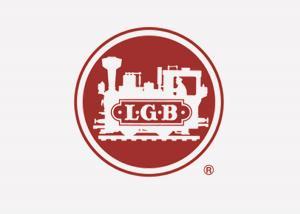 """LGB 281752 Dekal """" LGB logo """" 200 mm 1st"""