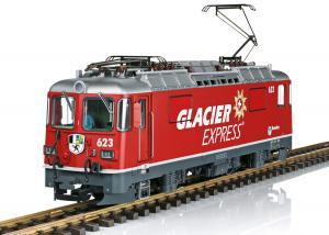 """LGB 28446 Ellok Class Ge 4/4 II """"Glacier Express"""" Nyhet 2020"""